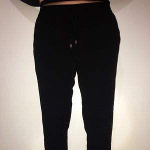 Old Navy Small Black School Pants/ Sweatpants